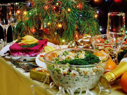 Новый год, праздничный стол