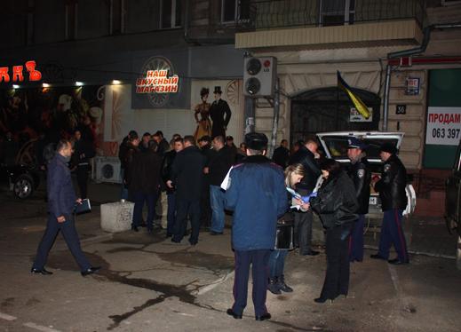 В Одессе нашли погибшим подозреваемого во взрыве возле офиса волонтеров
