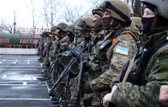 Спецназ в Мариуполе