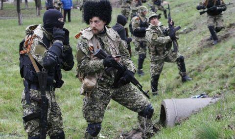 Банда казаков на Донбассе, иллюстрация