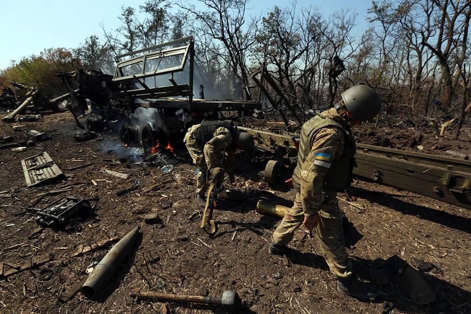 Война на Донбассе, иллюстрация