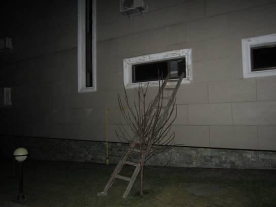 Дом, в котором сработала сигнализация.