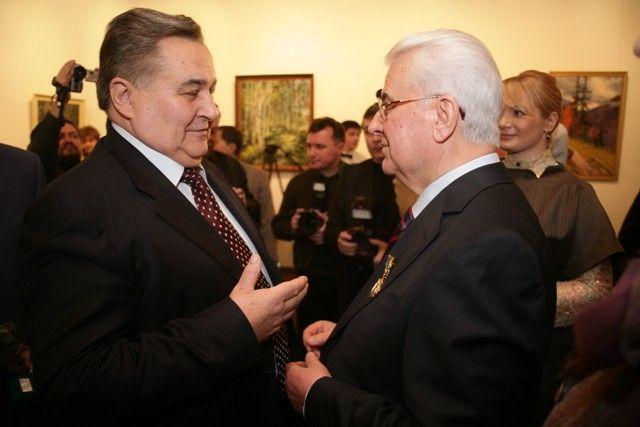 Президент Леонид Кравчук и экс-премьер-министр Евгений Марчук