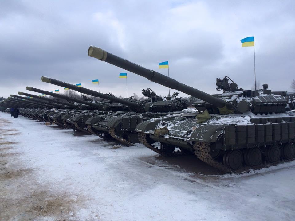 Украинские танки, иллюстрация