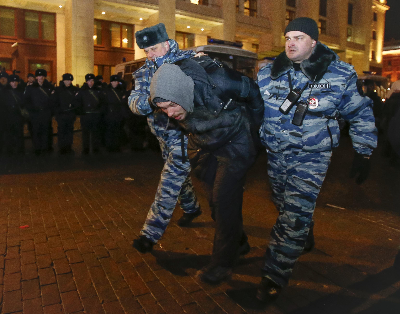 Один из задержанных активистов