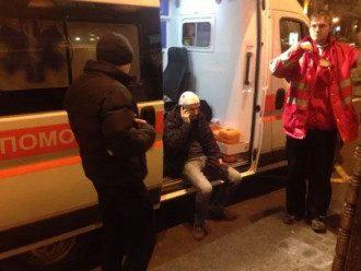 Массовая драка ультрас в Киеве