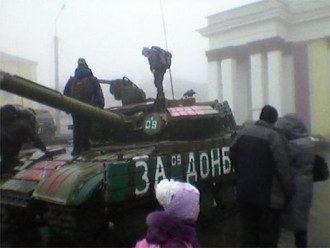 Танки боевиков ЛНР, иллюстрация