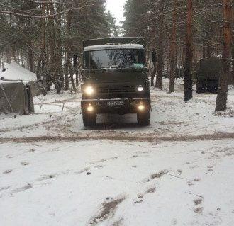 Российский КамАЗ, иллюстрация
