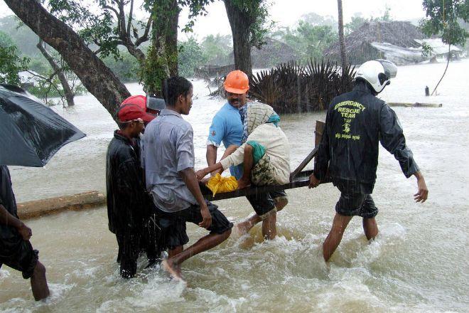 Наводнение в Шри-Ланке: 39 погибших