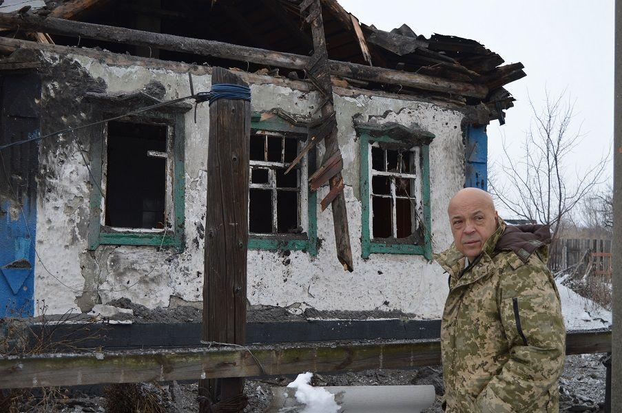Москаль, Луганщина