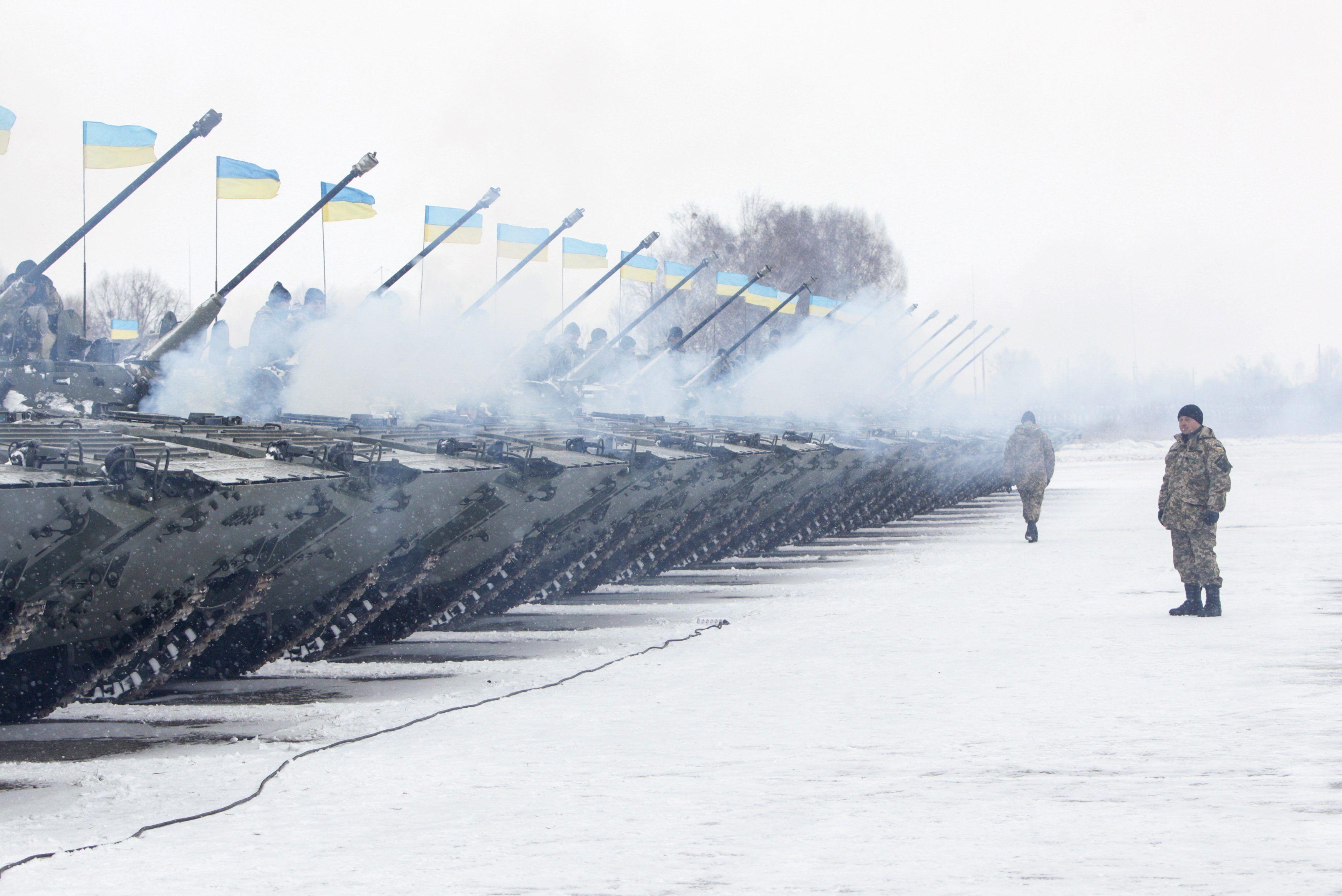 Украинская армия на Донбассе, иллюстрация