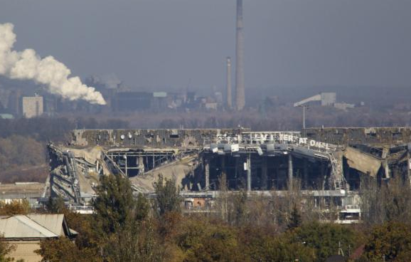 Донецкий аэропорт, иллюстрация