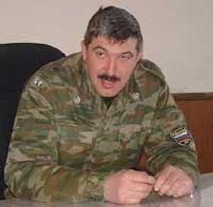 Российский генерал Кузовлев.