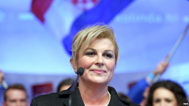 Хорватия, Колинда Грабар-Китарович