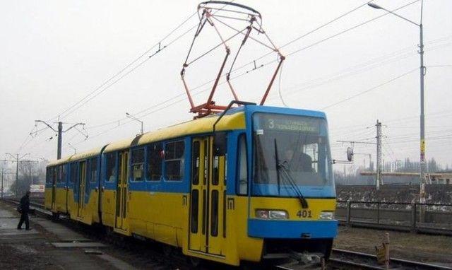 Трамвай, иллюстрация