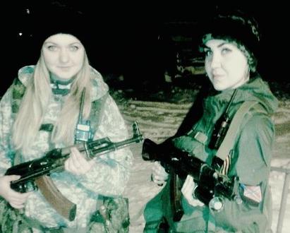 Соратницы боевиков