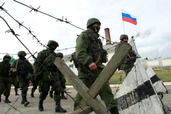 Российские военные на Донбассе, иллюстрация