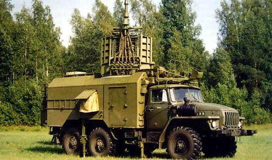 Наземный комплекс исполнительной радиотехнической разведки