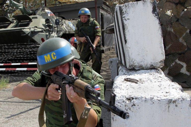 Российские войска в Приднестровье, иллюстрация
