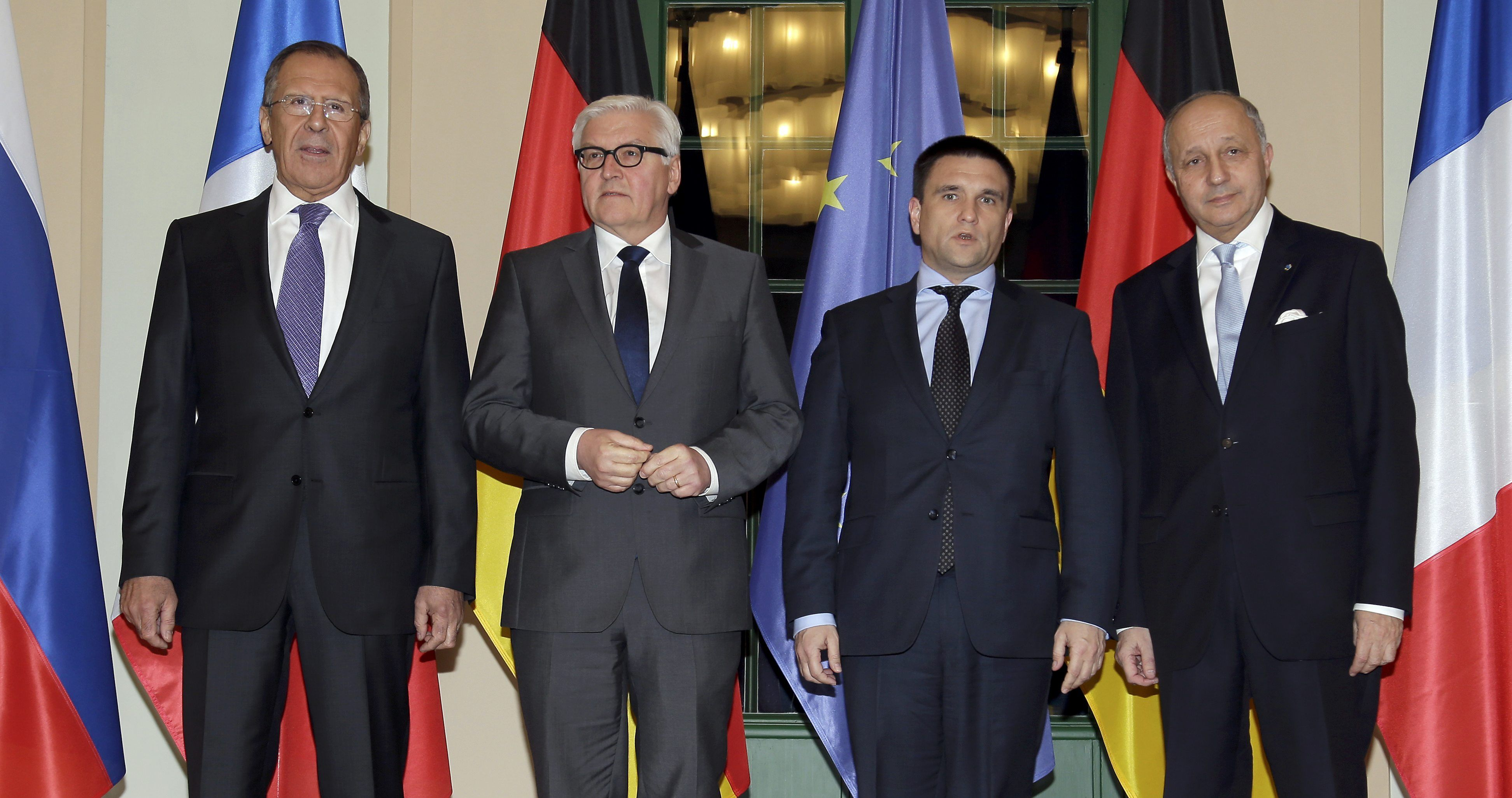 В Берлине встретятся главы МИД