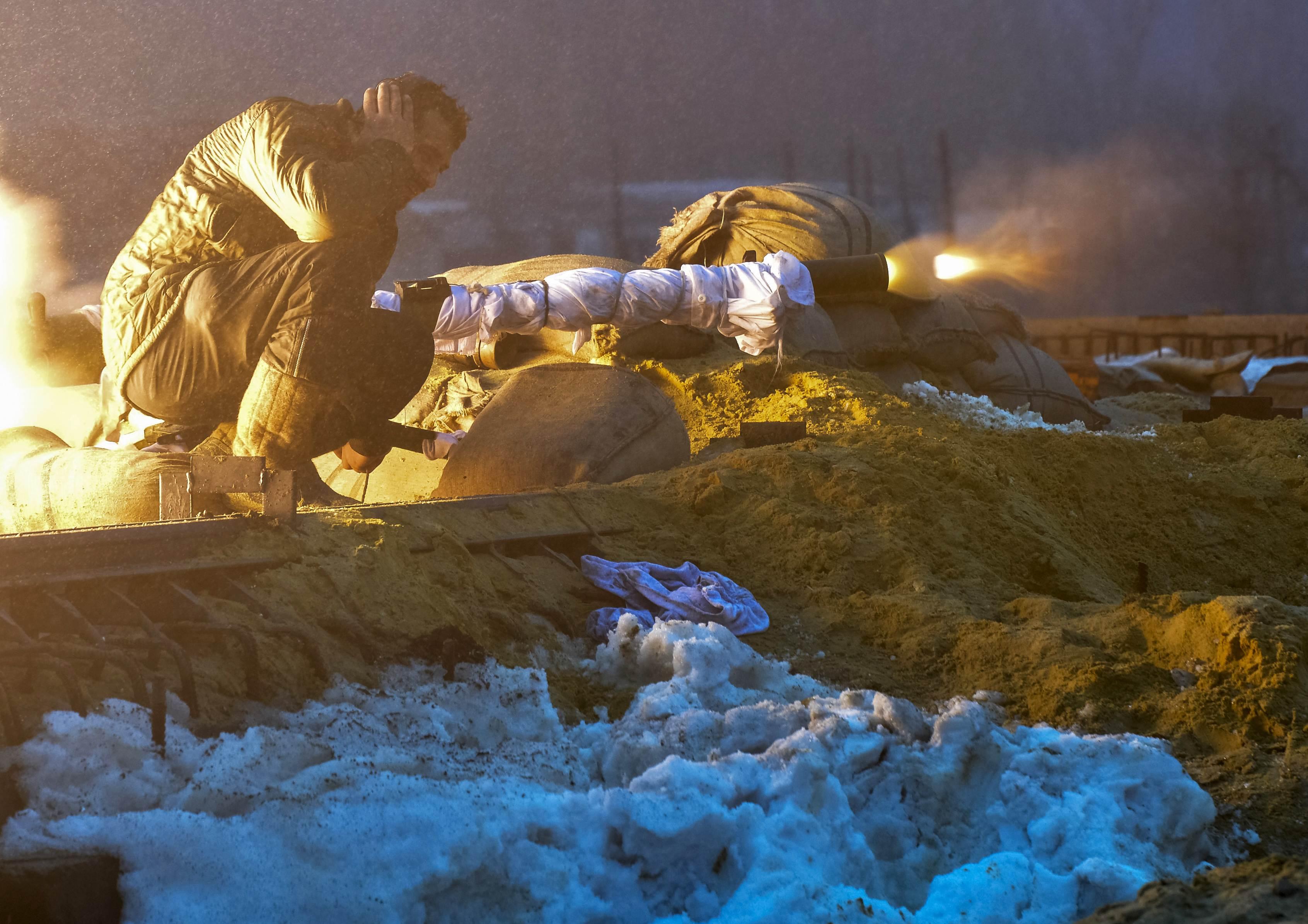 Бой в Песках, иллюстрация