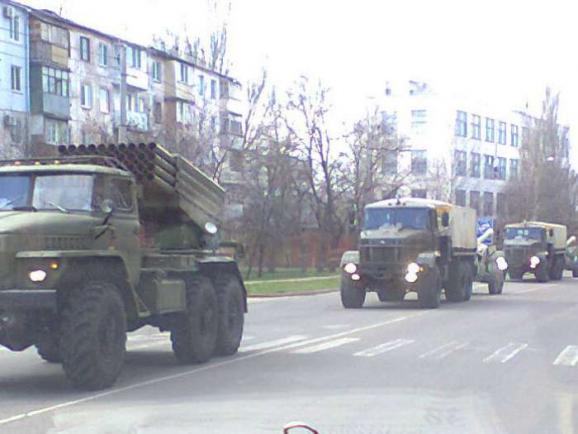 Россия перебрасывает на Донбасс