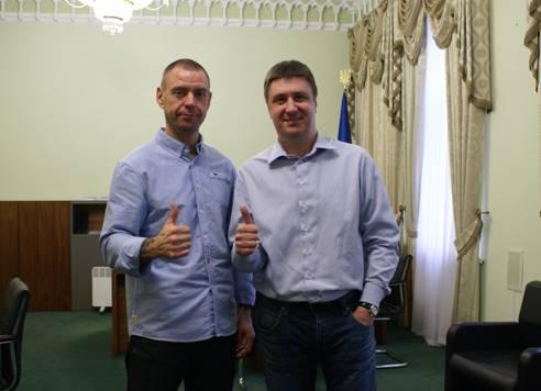 Сергей Михалок и Вячеслав Кириленко