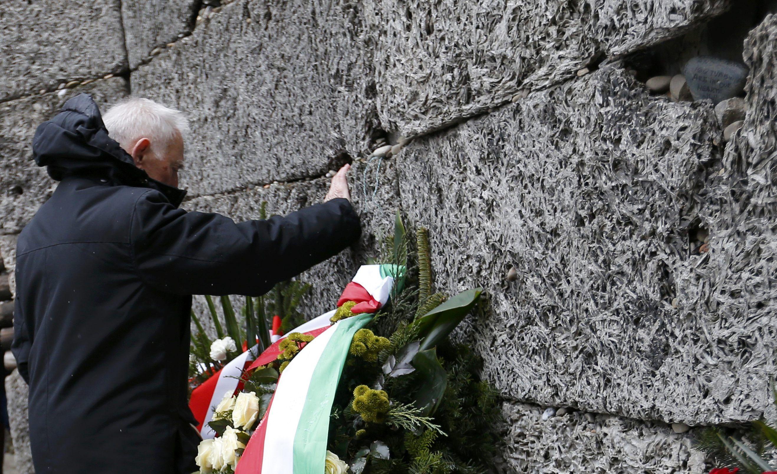 Стена Освенцима