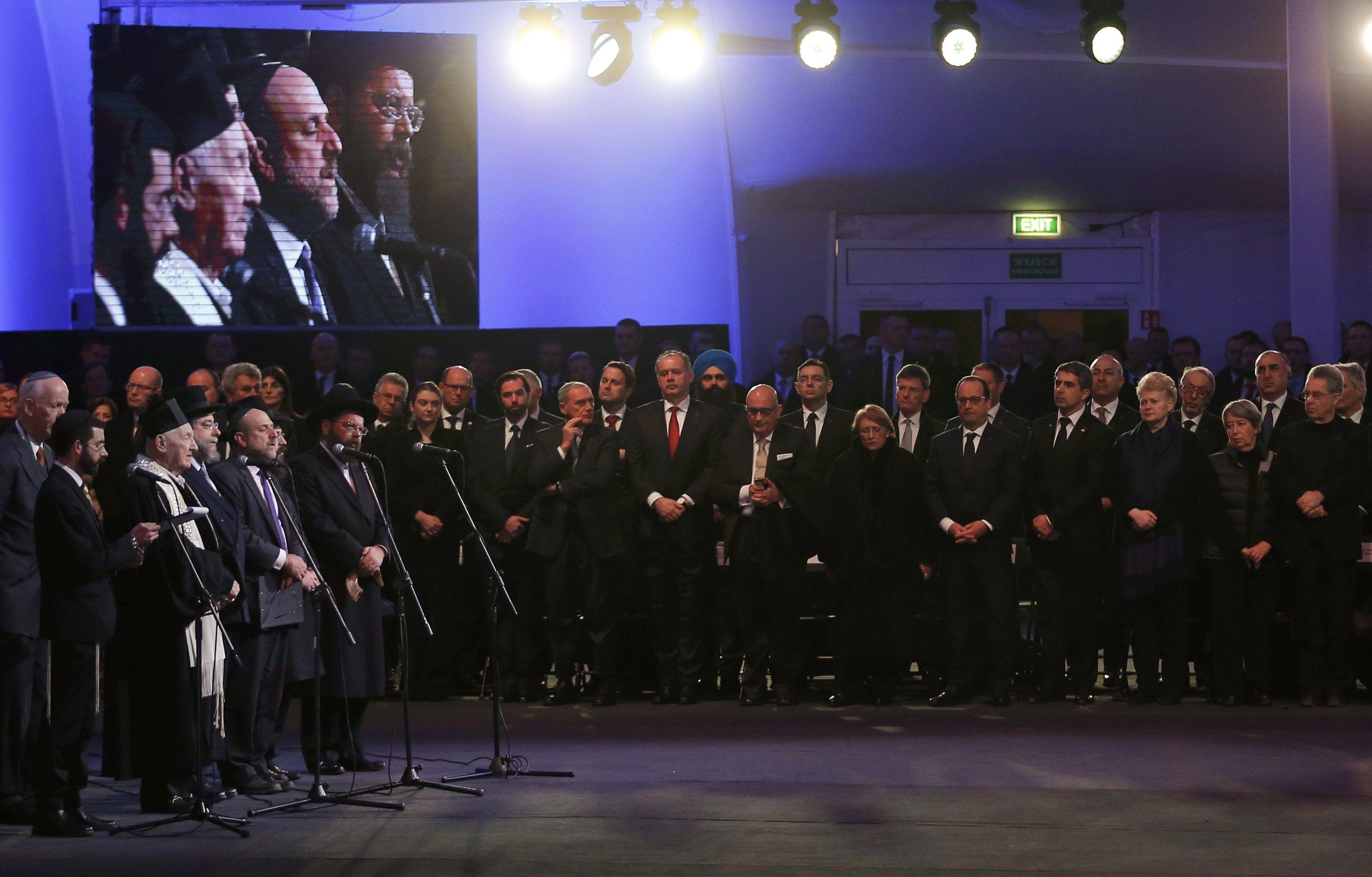 Порошенко поучаствовал в мероприятиях к годовщине освобождения Освенцима: опубликованы фото, видео