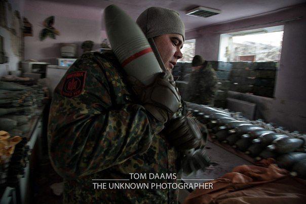 Силовики под обстрелом боевиков в Песках
