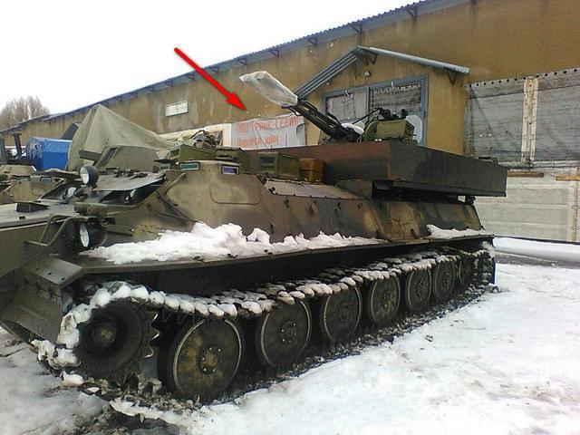 В Луганске обнаружили базу новейшей российской бронетехники: опубликованы фото