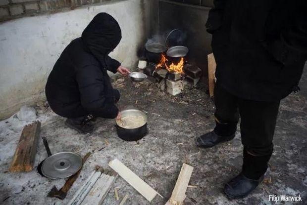 Жители Дебальцево