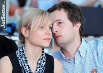 Алексей Порошенко с женой, иллюстрация