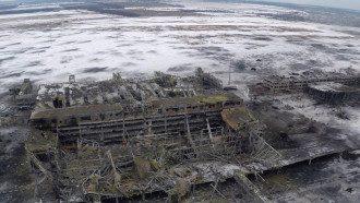 Донецкий аэропорт, 15 января