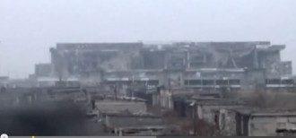 Донецкий аэропорт: опубликовано видео взрыва в новом терминале