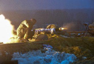 Бой в селе Пески возле донецкого аэропорта