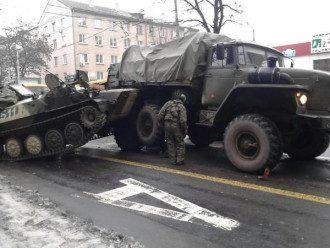 Техника боевиков на Донбассе, иллюстрация