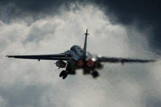 Авиация разбомбила базу русских военных