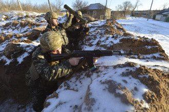Силы АТО на Донбассе, иллюстрация