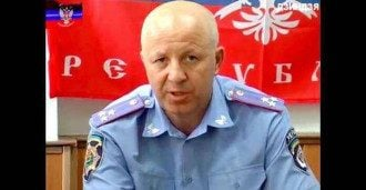 """Уничтоженный """"тенями"""" полицай-предатель"""
