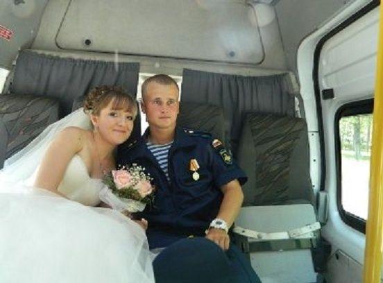 За месяц до отправки на Донбасс Козлов женился