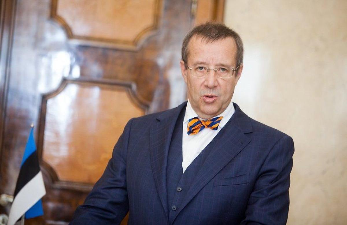 Президент Эстонии Тоомас Хендрик Ильве