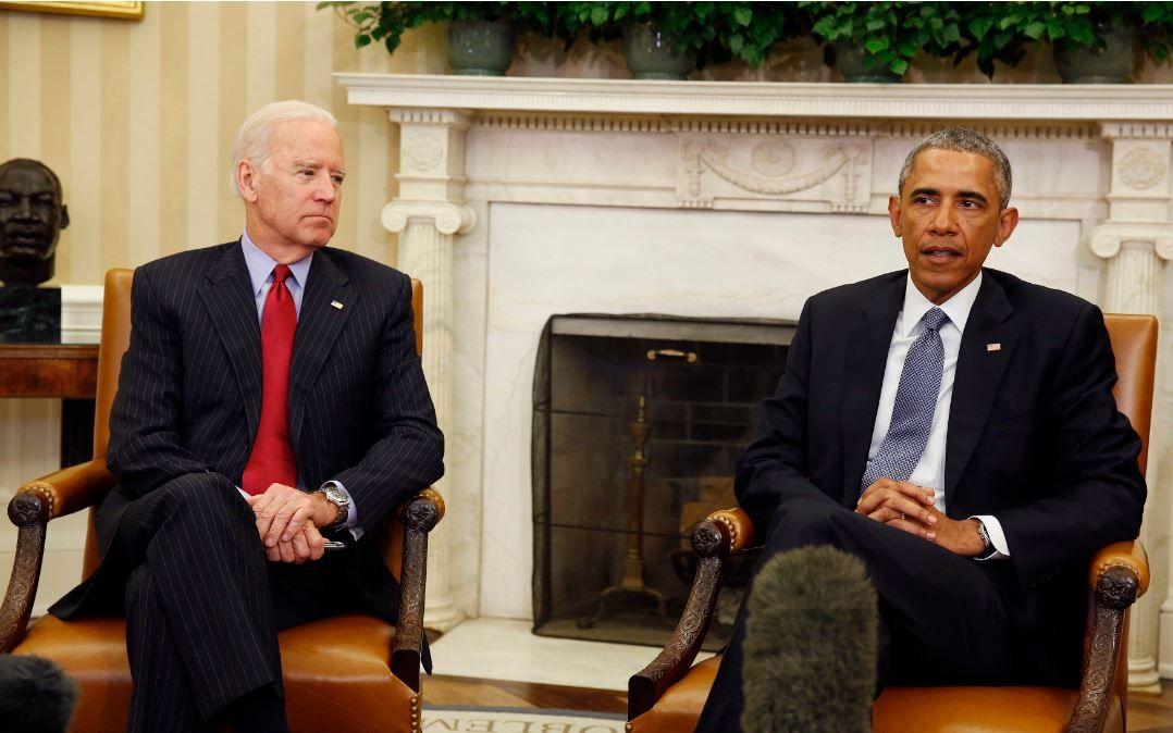 Барак Обама и Джозеф Байден