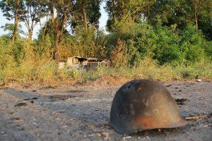 Под Горловкой боевики накрыли силовиков из