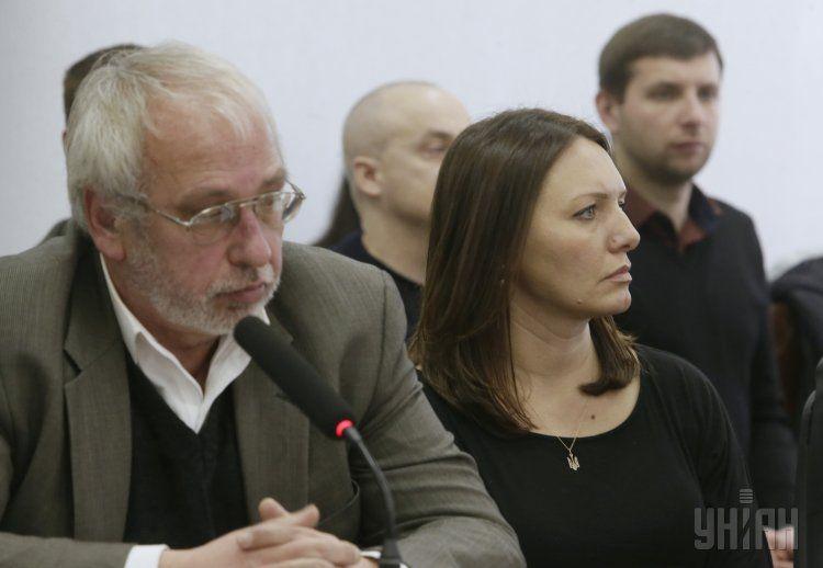 Алексей Подольский и Мирослава Гонгадзе
