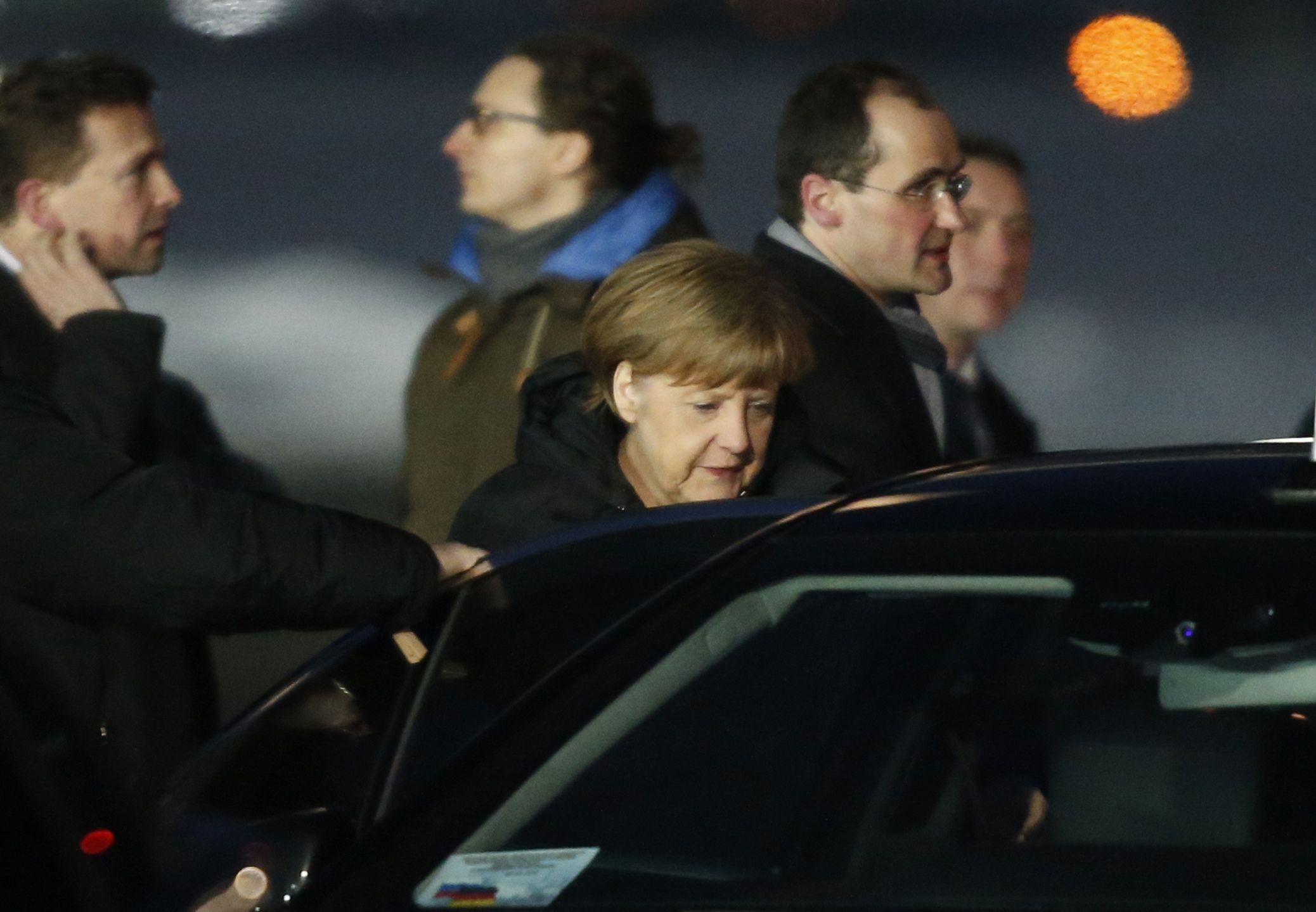Ангела Меркель в Москве