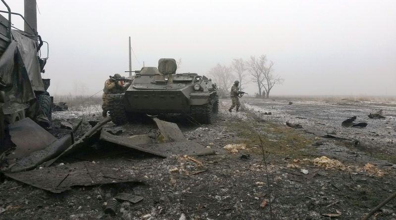 Силовики уничтожили военную технику боевиков, иллюстрация