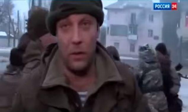 Главарь так называемой ДНР Александр Захарченко г