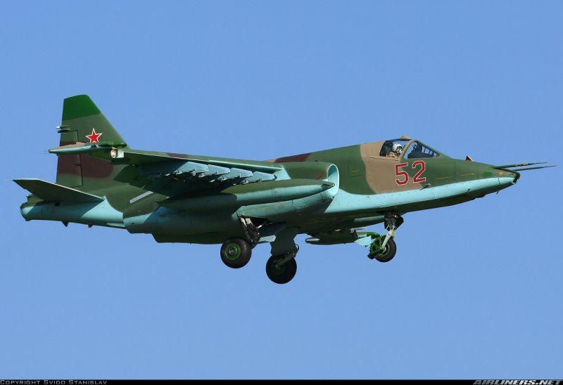 В РФ разбился штурмовик Су-25УБ - Новости России