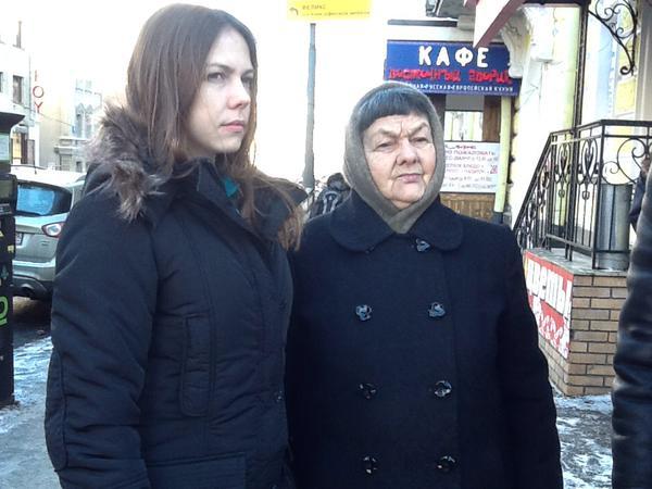 Сестра и мать Надежды Савченко